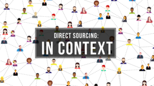 Direct talent sourcing in context.